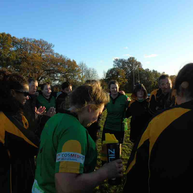 Harpenden Ladies  Vs Bracknell Ladies 11/11/2017