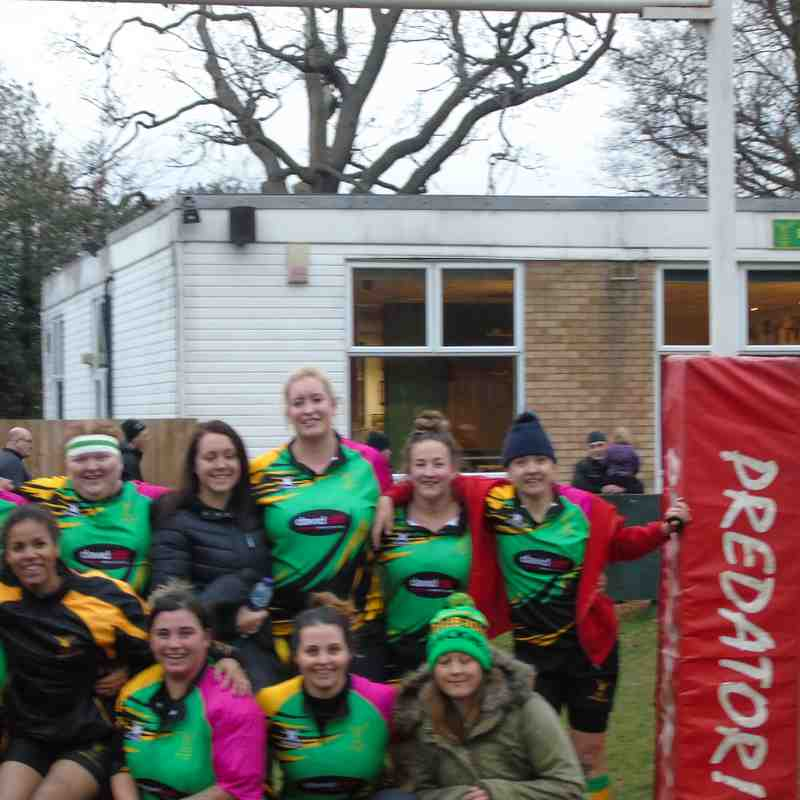 Bracknell Ladies Vs Teddington XV 03/12/2017