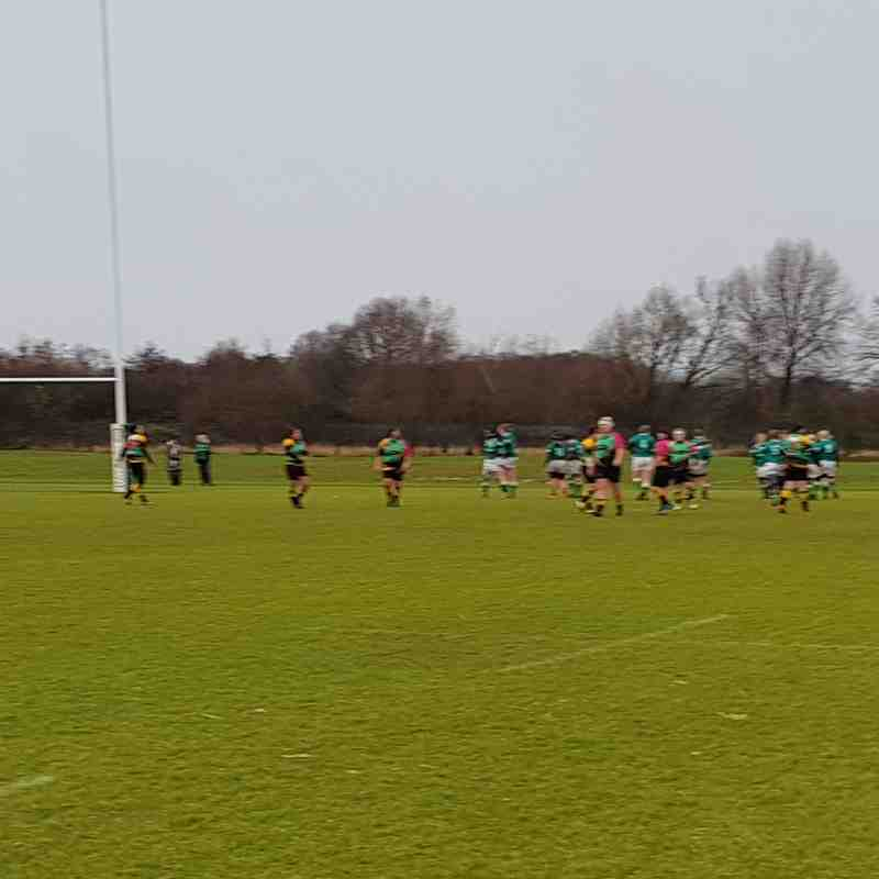 London Irish Vs Bracknell Ladies 10/12/2017
