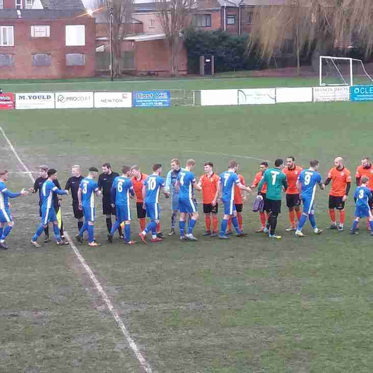 Match Report: Spalding United 1 - 3 Kidsgrove Athletic
