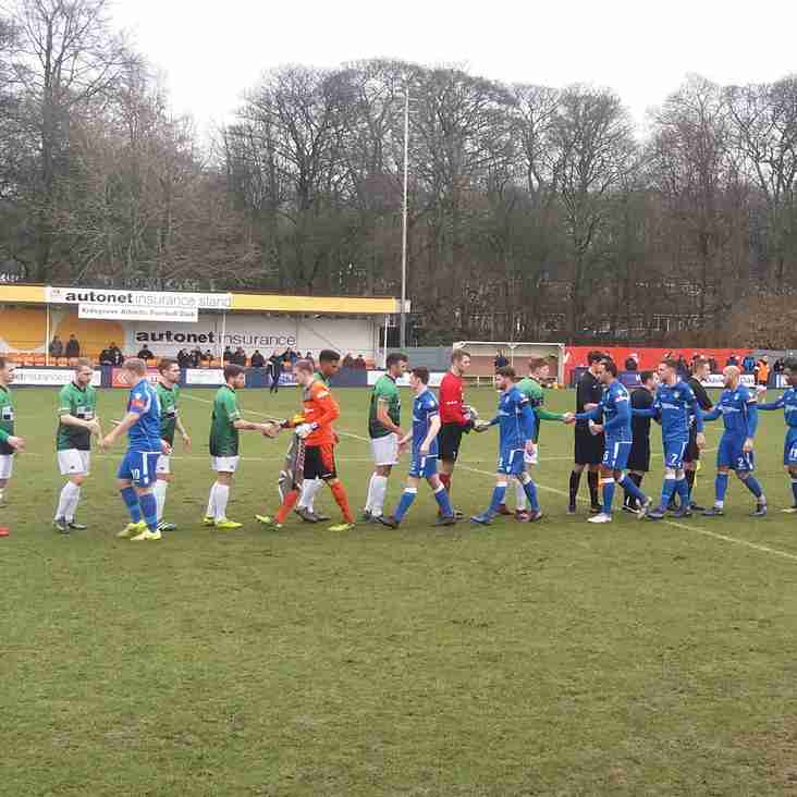 Kidsgrove Athletic 1-1 Leek Town match report