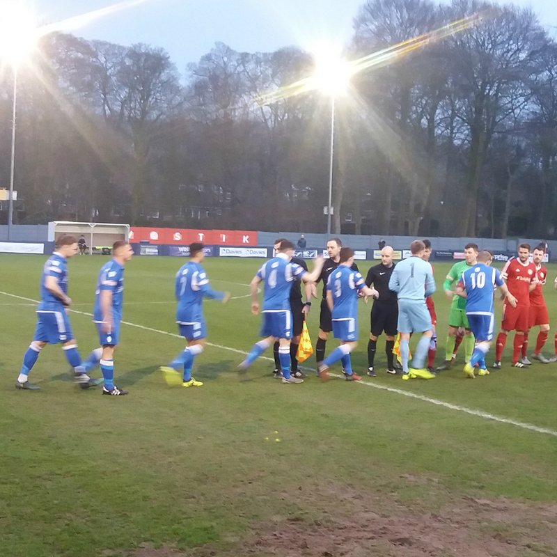 Match Report: Kidsgrove Athletic 2 - 5 Peterborough Sports