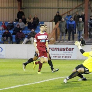 Report: Colwyn Bay 5-0 Mossley
