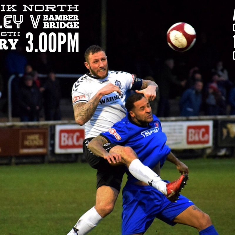 Match Preview: Bamber Bridge (H)