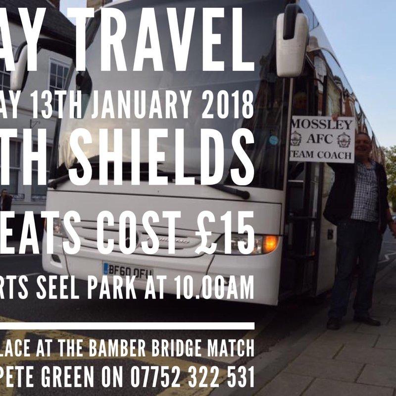 Coach Travel: South Shields (A)