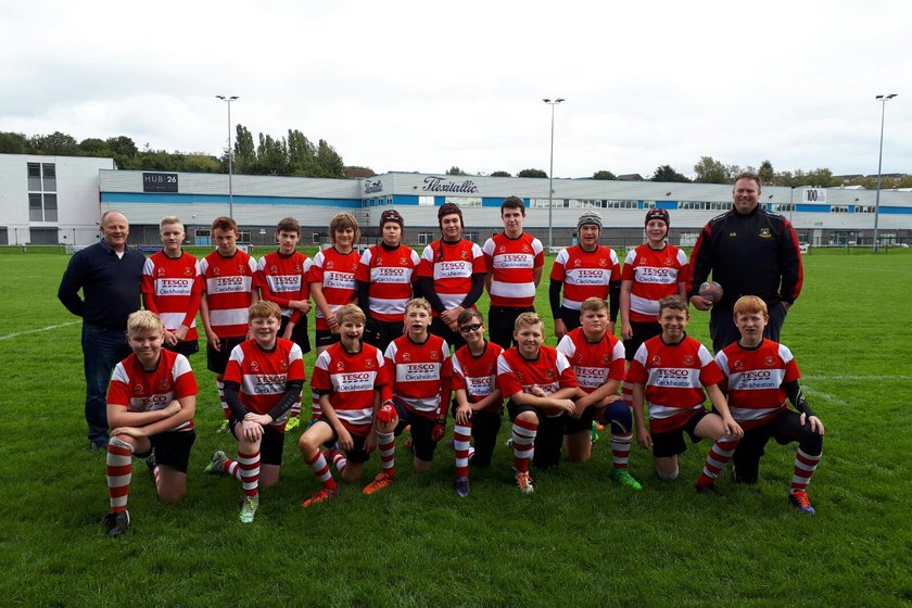 U14's lose to Bradford Salem RUFC 5 - 17