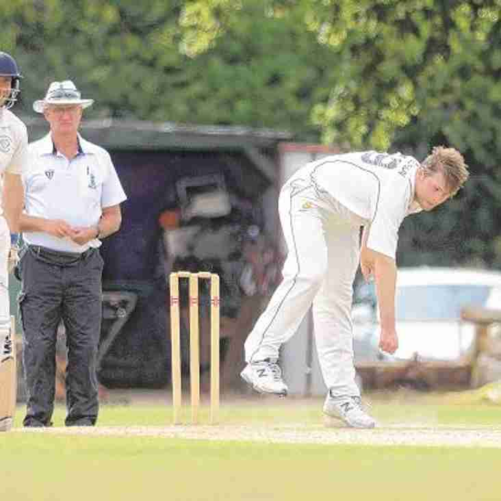 Former Finchampstead CC player heats up in NZ