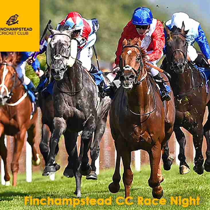Finchampstead CC Race Night - 20th July 2018 at 7:30pm