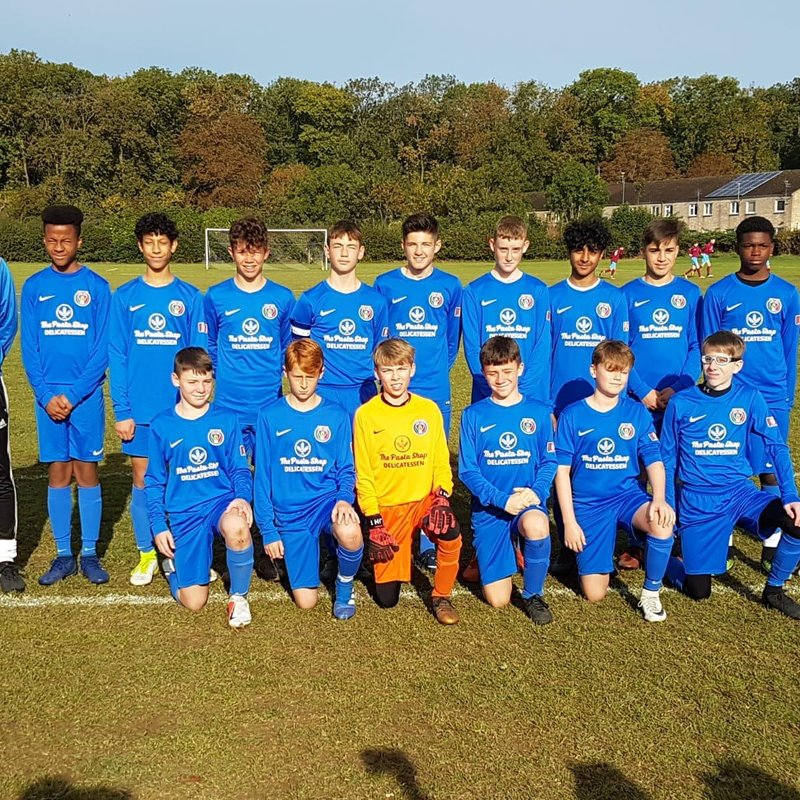 Under-14 Boys beat Spalding 4 - 0
