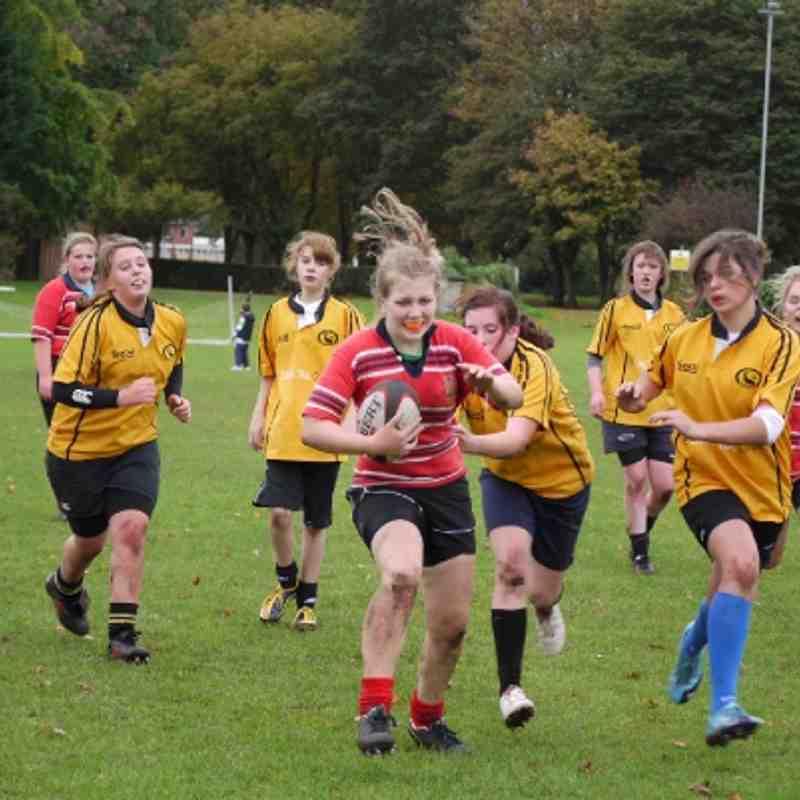 U15 Girls Manchester vs. Northwich (09/10/2011)