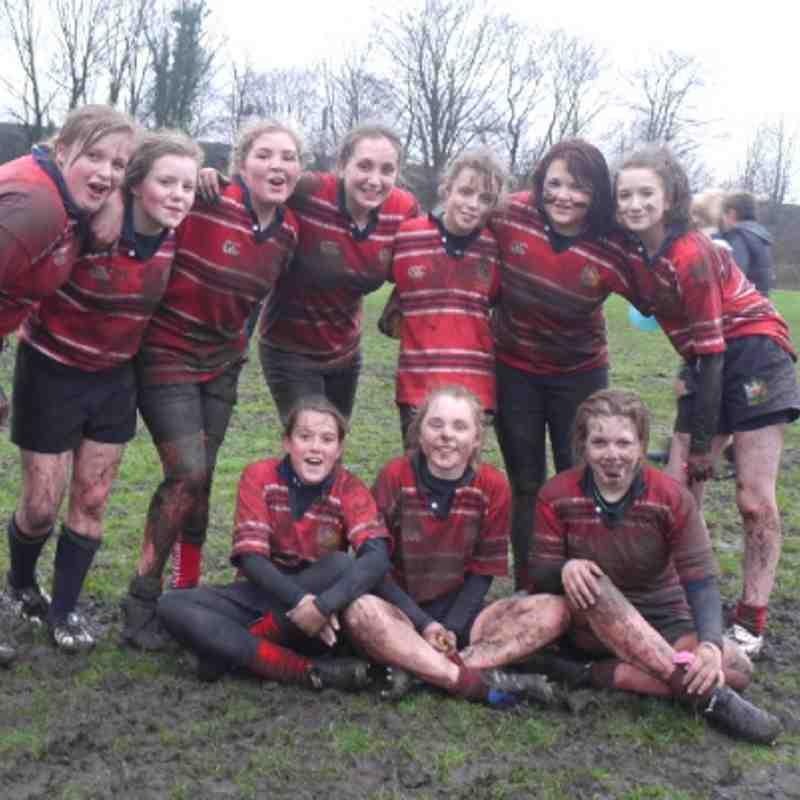 U15 Girls vs Eccles (08.01/2012)