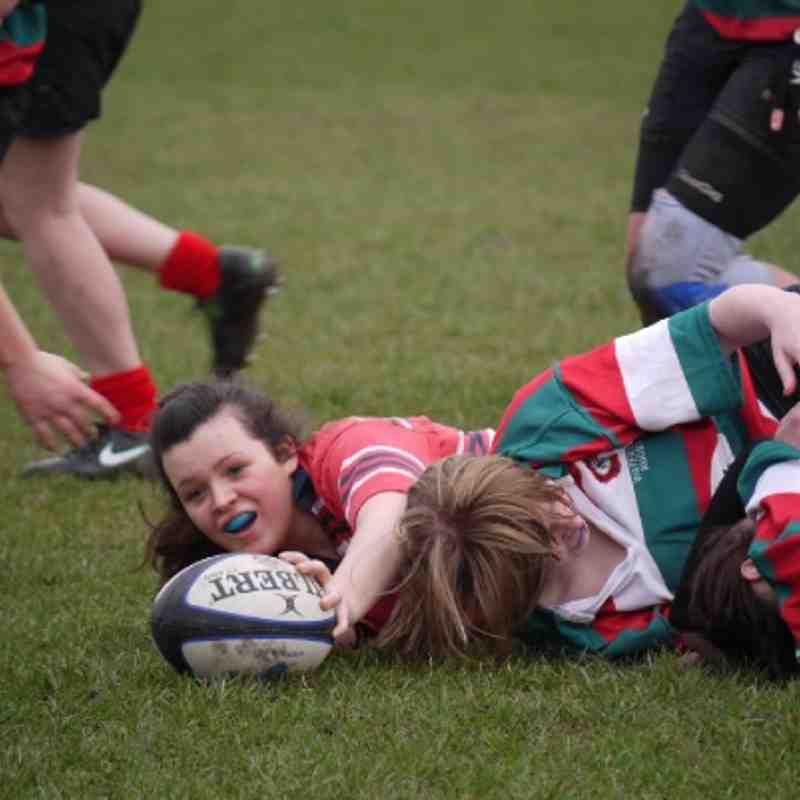 U15 Girls vs Tyldesley / Waterloo (11/03/2012)
