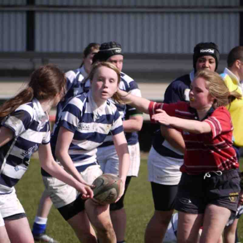 U15 Girls vs Eccles (25.03.2012)