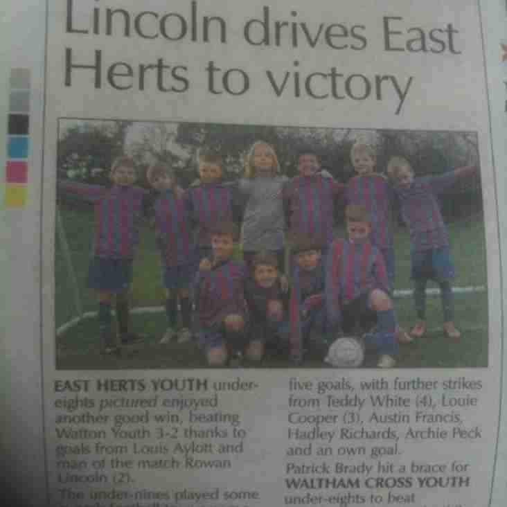 East Herts vs Watton Youth