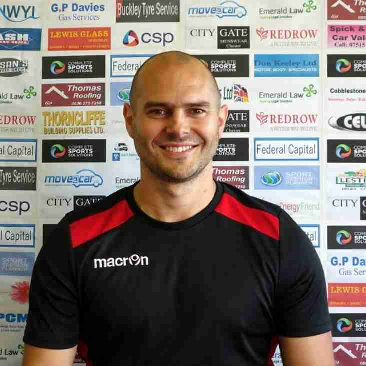 Manager Ben Chamberlain reviews Welsh Cup match at Barmouth, Saturday 1st Oct