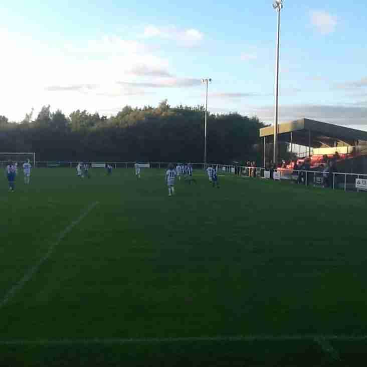 Buckley Town FC host Chester City juniors v Macquarie juniors friendly match.