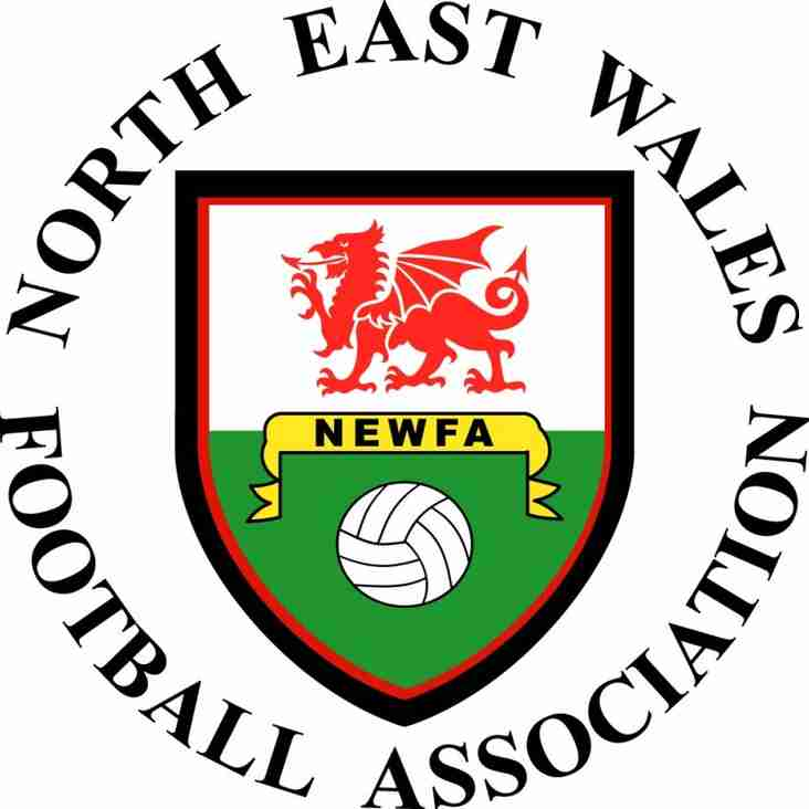 Buckley Town to play Gresford Athletic in the NEWFA semi final at Brymbo FC.