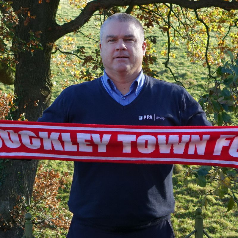 BUCKLEY TOWN FOOTBALL CLUB TODAY ANNOUNCE NEW CHAIRMAN