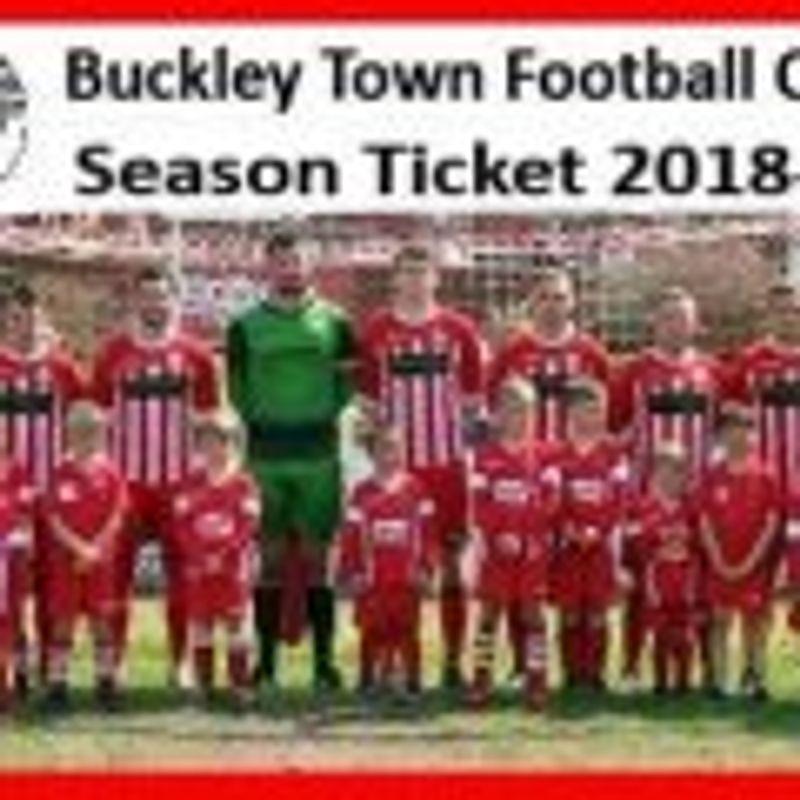 Buckley Town FC announce another sales outlet for the 2018/19 Season Tickets