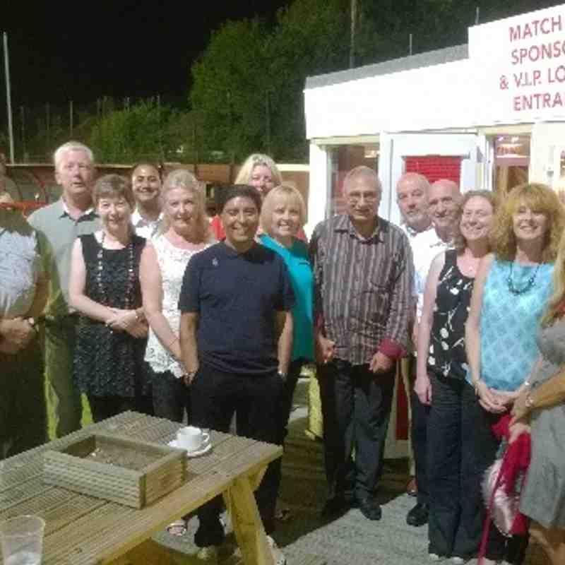AUFC v Matlock Town Sponsors, UK Croupier