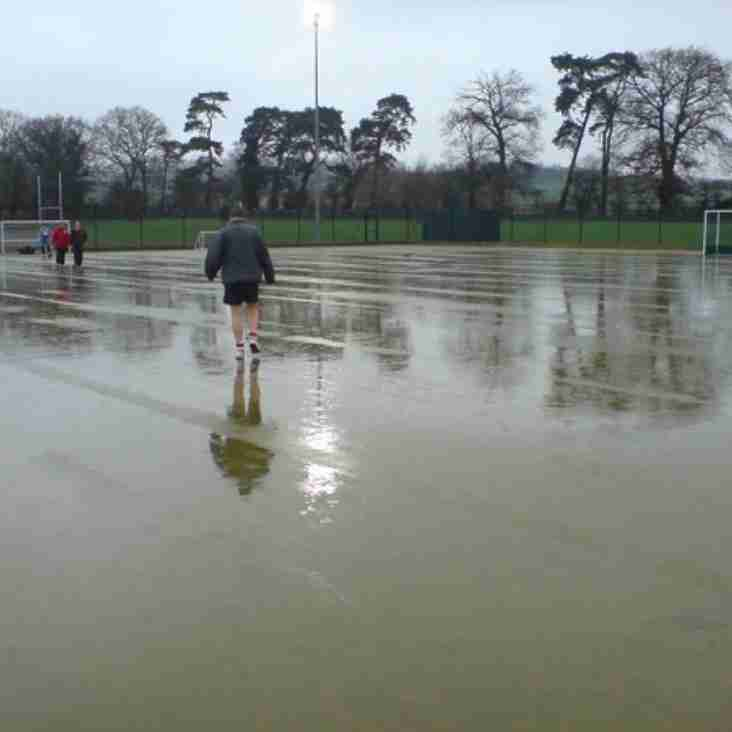 Under 9 and U11 (Girls) training cancelled