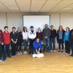 We're now in Safe Hands, Thanks to First Aid Training!