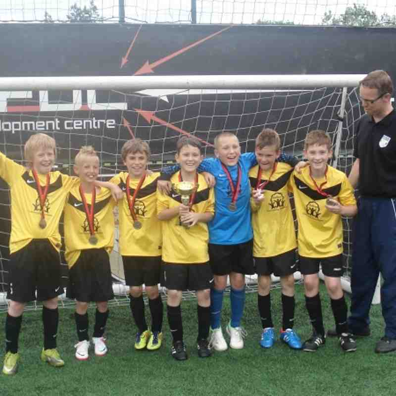 SCOLE U 11'S WIN FDC TOURNAMENT FOR THE 2ND YEAR