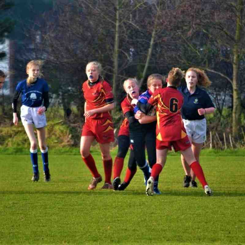 Rockcliff Girls U13 & U15 festival at Kingston Park