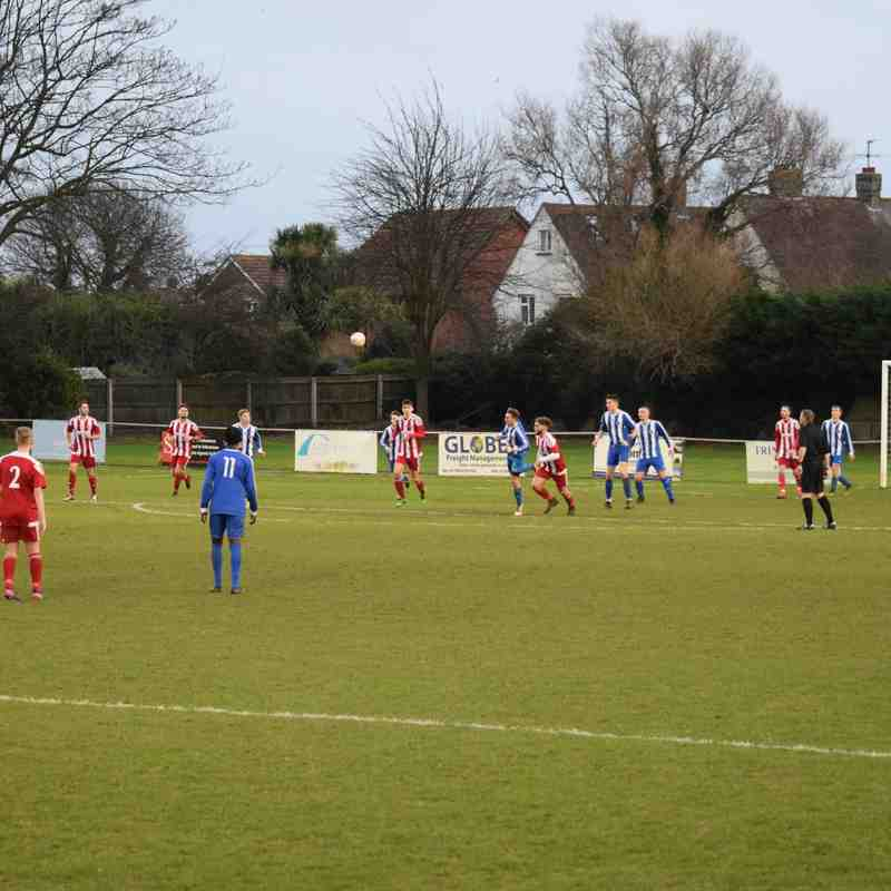 Saffron Walden Reserves v Felixstowe Reserves -  6/1/2018