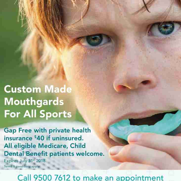 Dentist @ Health - Custom Made Mouthguard's For All Sports