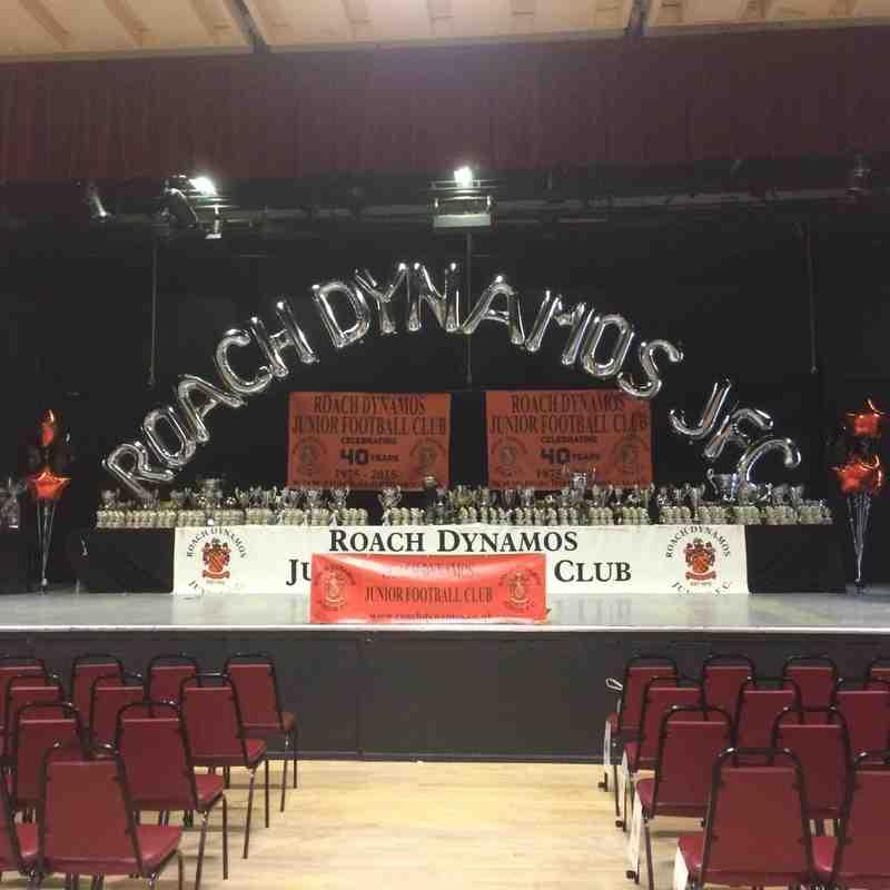 ROACH 2015 PRESENTATION NIGHT 40 YEARS