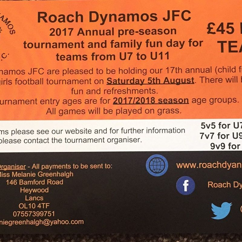 ROACH ANNUAL TOURNAMENT