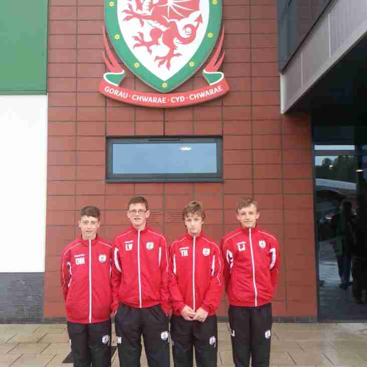 4 Nomads Players Play in Cymru Cup in Newport....