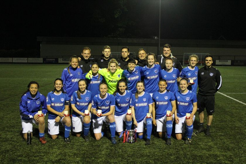 REPORT | Pompey Ladies lift 14th Hampshire Cup