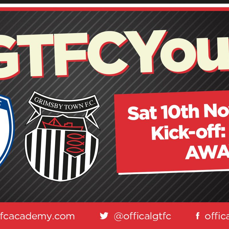 Chesterfield U18s v Grimsby Town U18s in EFL North East Youth Alliance on Saturday