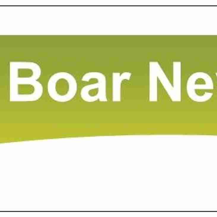 Wild Boar News Letter May - June