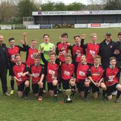 Thame Boys lift U16 League Cup
