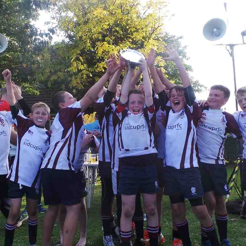 U11s Plate Win at Bromley