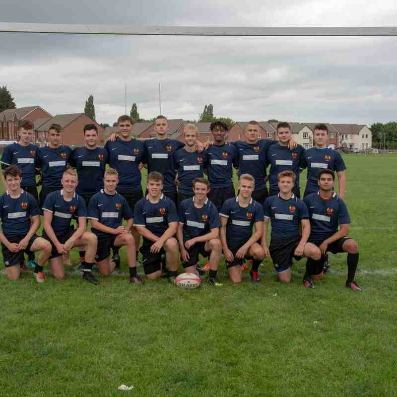 U17 team photos