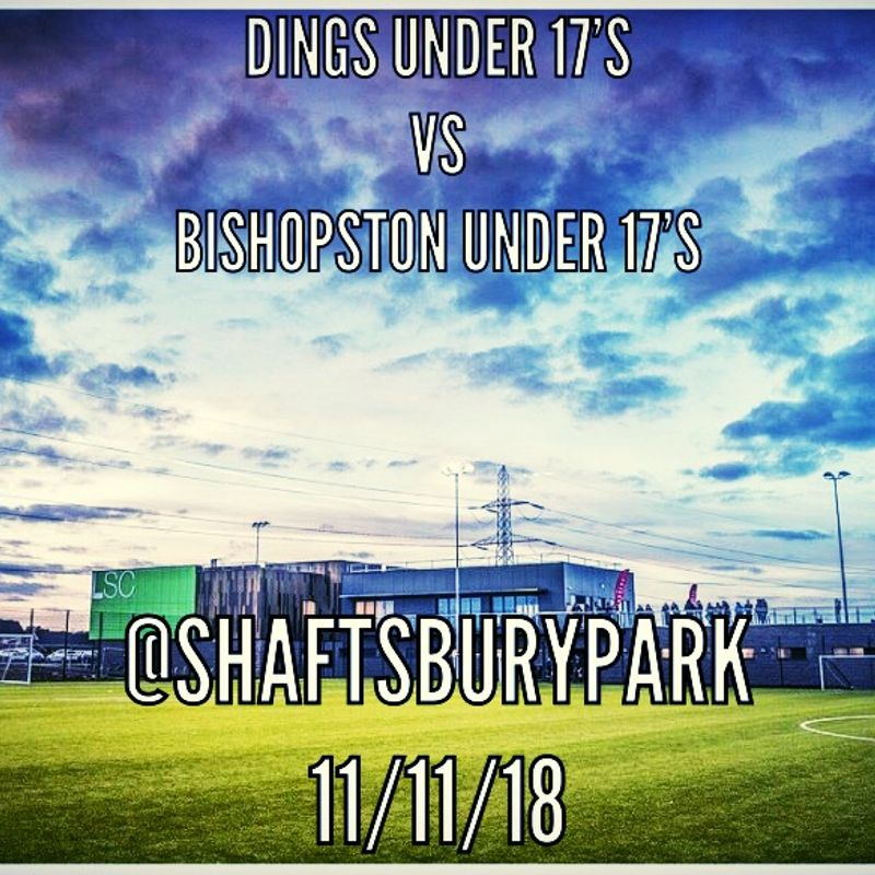 U17 are Away at Dings this Sunday