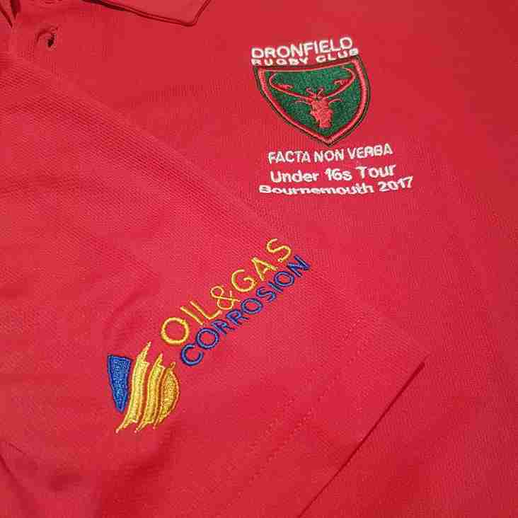 Dronfield Rugby Club U16's Tour 2017