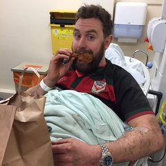 Mr Caldwell goes to extreme lengths to get a Fried Chicken Meal