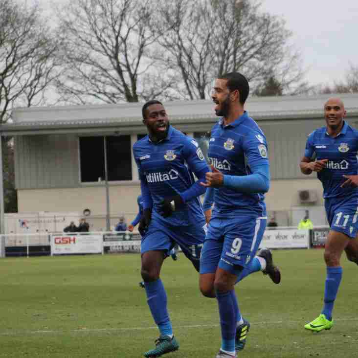 McCallum's Relief At Getting Off The Mark For Eastleigh