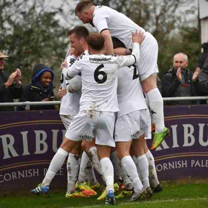 Truro 'In The Mix' After Comfortable Away Victory