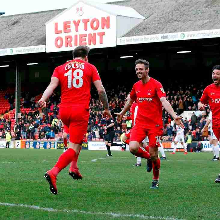 Edinburgh Full Of Praise As Orient Win Third In A Row