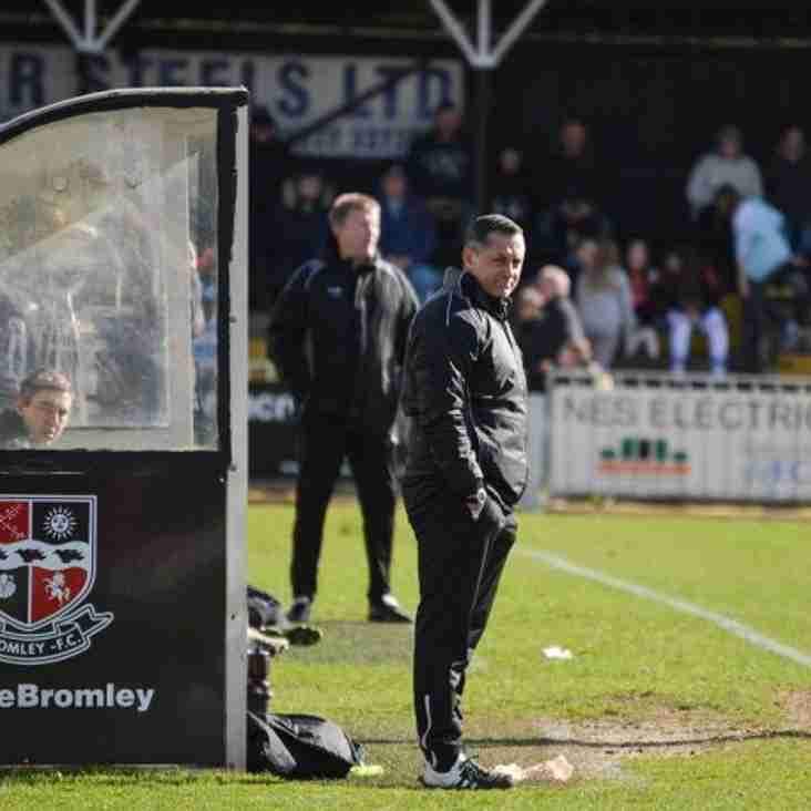 Boss Smith Urges Bromley To Learn Their Lesson