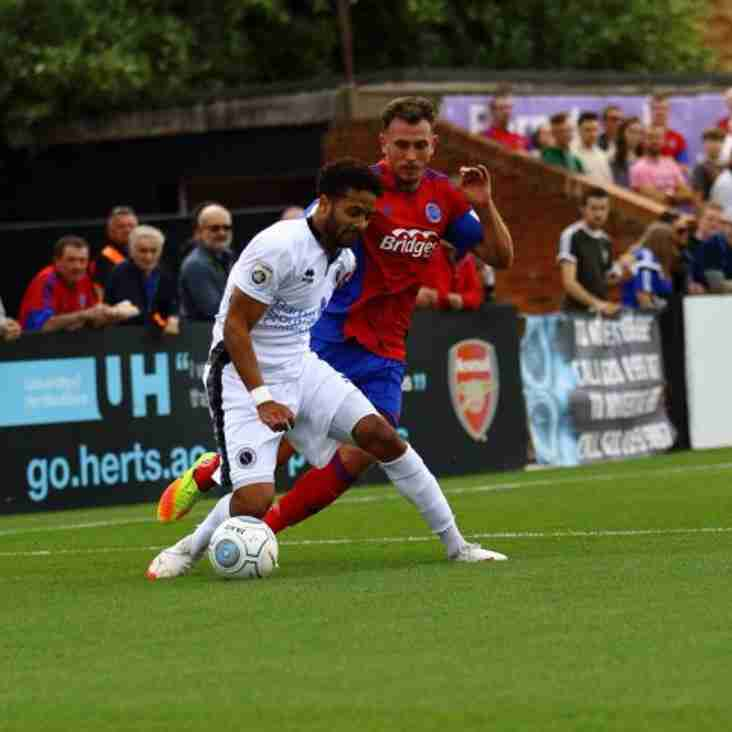 Wood Fire Warning Shot With Victory At Rivals Dagenham