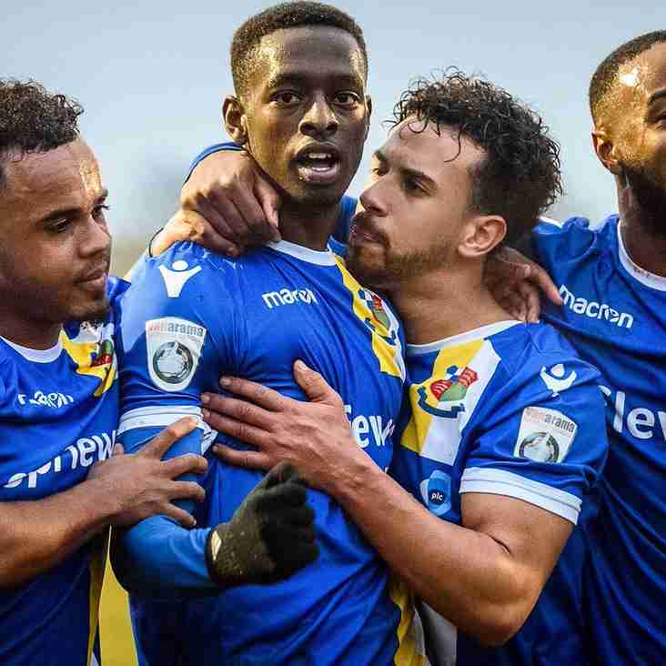 It's A Family Affair At Play-Off Chasing Wealdstone