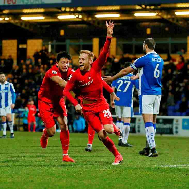 Orient Showing Improvement With Double Away Joy