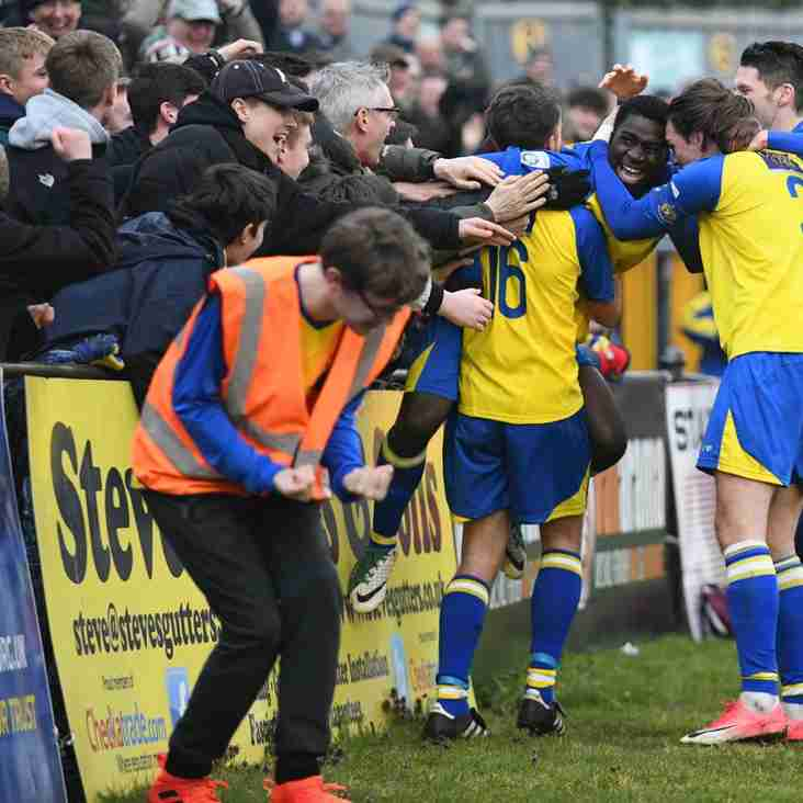 Allinson's Saints Are Sinners After 'Lucky' Late Win
